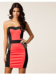 Little Mistress Peplum Bodycon Dress