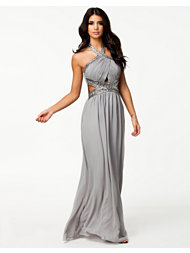 Little Mistress Wrap Front Dress