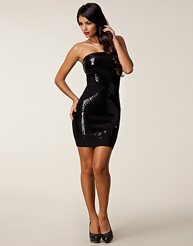 PARTY DRESSES - BEBE / DIANE SEQUIN BANDAGE DRESS - NELLY.COM