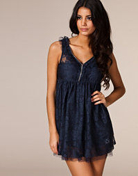 Rut m.fl. - Lace Zip Dress