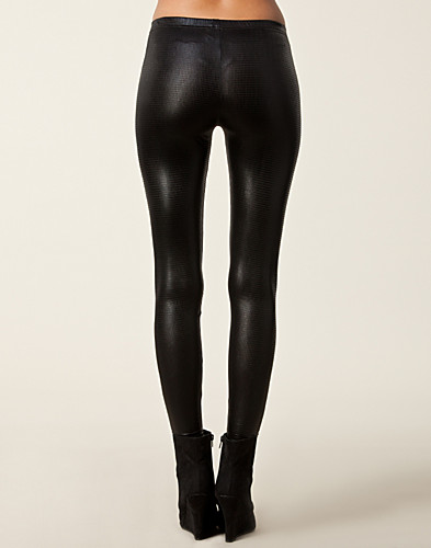 BYXOR & SHORTS - RUT&CIRCLE / KELLY GOLD LEGGINGS - NELLY.COM