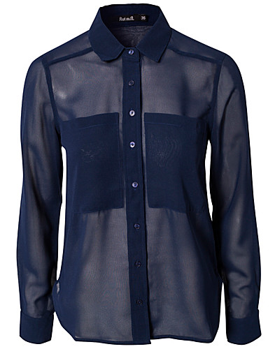 BLOUSES & SHIRTS - RUT&CIRCLE / GAIL POCKET SHIRT - NELLY.COM