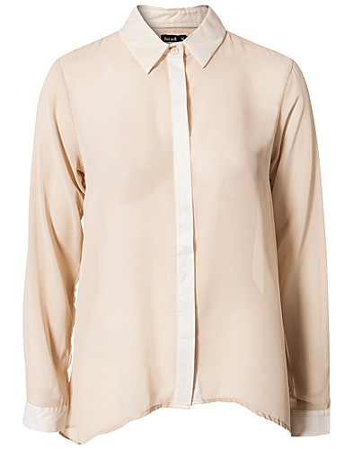 BLOUSES & SHIRTS - RUT&CIRCLE / DAYA SHINY PLACKET BLOUSE - NELLY.COM