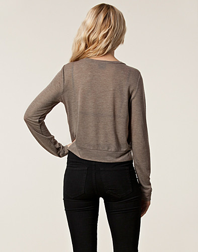 TRÖJOR - RUT&CIRCLE / INGRID SWEAT TOP - NELLY.COM