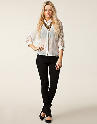 BLOUSES & SHIRTS - RUT&CIRCLE / NIGELLA BACK LACE BLOUSE - NELLY.COM