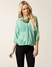 NIGELLA BACK LACE BLOUSE
