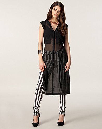 BLOUSES & SHIRTS - RUT&CIRCLE / TILDA LONG SHIRT - NELLY.COM