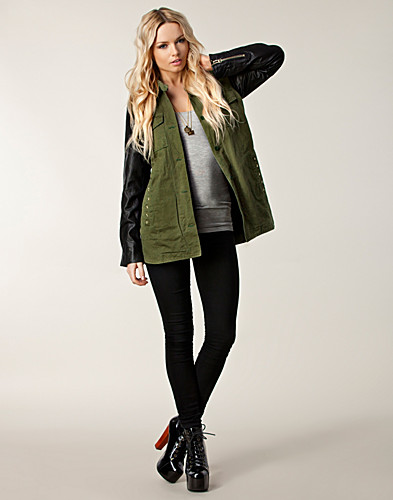 JACKOR - F.A.V / ARMY PEACE JACKET - NELLY.COM