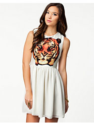 Sally&Circle Tiger Dress