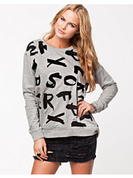 Rut&Circle Dawn Printed Sweater