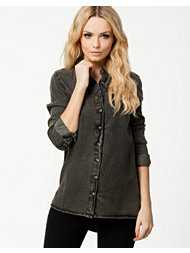 Sally&Circle Price Boyfriend Denim Shirt