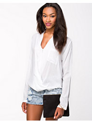 Rut&Circle Price Wrap Blouse