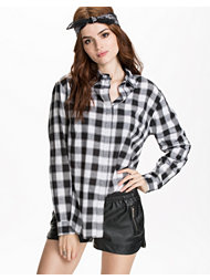 Sally&Circle Must Bea Check Shirt