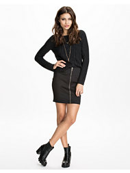 Rut&Circle Carrie Zip Skirt