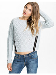 Rut&Circle Must Zizzy Zip Knit
