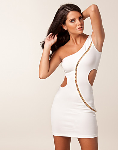 FESTKLÄNNINGAR - ELISE RYAN / CUT OUT ONE SHOULDER DRESS - NELLY.COM