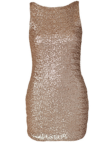 JUHLAMEKOT - ELISE RYAN / SEQUIN LOW BACK DRESS - NELLY.COM