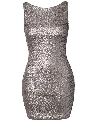 FESTKLÄNNINGAR - ELISE RYAN / SEQUIN LOW BACK DRESS - NELLY.COM