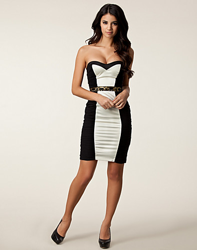 PARTY DRESSES - ELISE RYAN / ROUCHED TRIM BODYCON - NELLY.COM