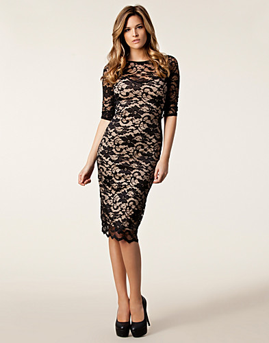 PARTY DRESSES - ELISE RYAN / BACKLESS LACE DRESS - NELLY.COM