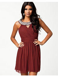 Elise Ryan Trim Cross Front Dress