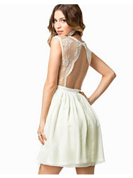Elise Ryan Open Back Lace Dress