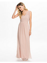 Elise Ryan Dreaped One Shoulder Maxi Dress