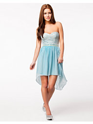 Elise Ryan Embellished Bandeau Dress