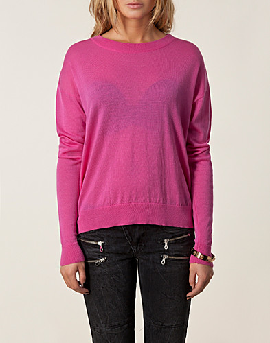 JUMPERS & CARDIGANS - DAGMAR / LOVE KNITTED SWEATER - NELLY.COM