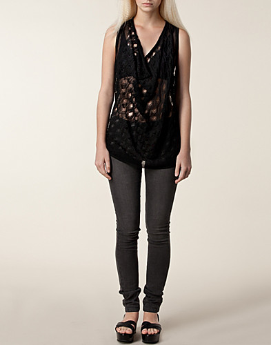 TOPS - DAGMAR / IRENA LACE TOP - NELLY.COM