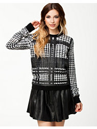 Dagmar Ausuka Coated Print Sweater