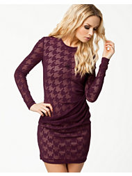 Dagmar Goga Lace Knit Dress