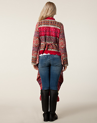 JUMPERS & CARDIGANS - ODD MOLLY / EGOTRIP WRAP CARDIGAN - NELLY.COM