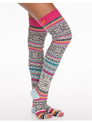 Odd Molly Jacquard Long Sock