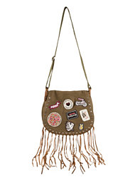 Odd Molly Badge Shoulderbag