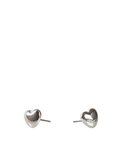 SMYCKEN - MINT / HEART EARRINGS - NELLY.COM