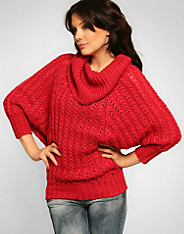 Only - Alfi Knit Cowl Neck