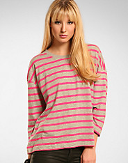 Only - Oversize Stripe Top