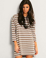 Only - Oversize 3/4 Stripe Top