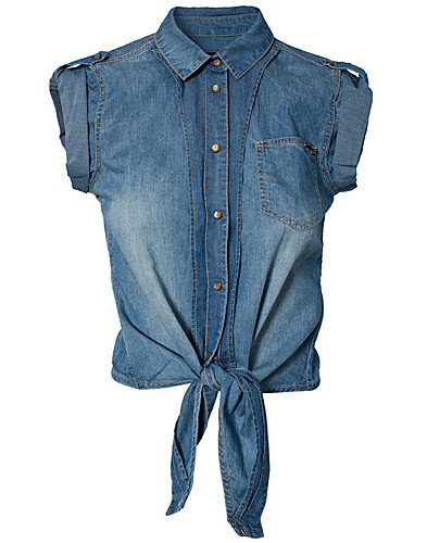 BLUSEN & HEMDEN - ONLY / MIRLA DENIM SHIRT - NELLY.DE