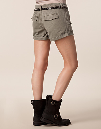 TROUSERS & SHORTS - ONLY / RAW PRINT ARMY SHORTS - NELLY.COM