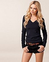 TAFFY LONG KNIT V-NECK