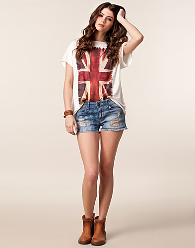 BYXOR & SHORTS - ONLY / UNITED DENIM HOTPANT - NELLY.COM