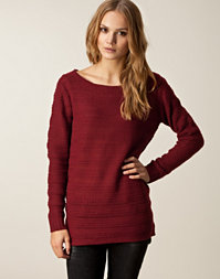 Only - New Elise Long Boatneck