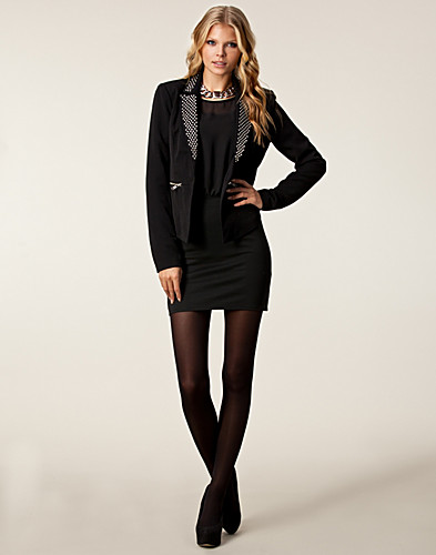 JACKETS AND COATS - ONLY / MAYA EVITA STUD BLAZER - NELLY.COM
