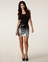 DIGITAL SEQUINS SKIRT