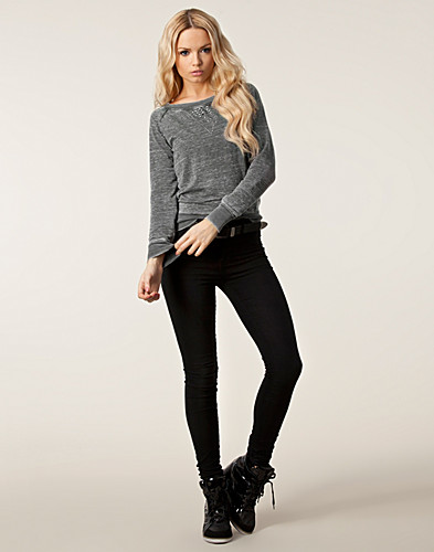 TRÖJOR - ONLY / STANCY STUD SWEATER - NELLY.COM