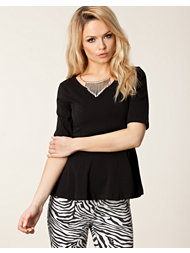 Only Leva Peplum 2/4 Top