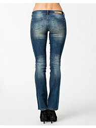 Only Ebba Low Bootcut Jeans