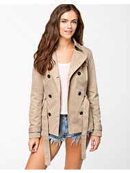 Only Sandy Short Trenchcoat